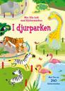 I djurparken : min lilla bok med klistermärken