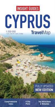 Insight Guides Travel Map Cyprus
