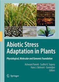 Abiotic Stress Adaptation in Plants