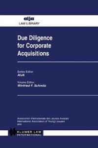 Due Diligence for Corporate Acquisitions