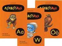 AlfabetsDax 29 alfabetsböcker  paket