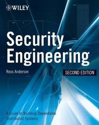 Security Engineering: A Guide to Building Dependable Distributed Systems, 2