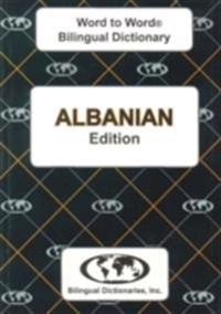 English-albanian & albanian-english word-to-word dictionary
