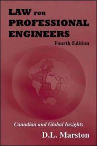 Law For Professional Engineers 4E