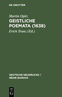 Geistliche Poemata (1638)