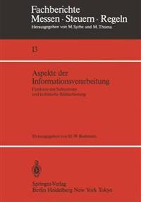 Aspekte Der Informationsverarbeitung