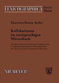 Kollokationen im zweisprachigen Worterbuch