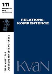 KvaN 111 - Relationskompetence