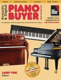 Acoustic & digital piano buyer - supplement to the piano book