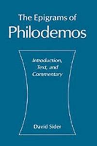 The Epigrams of Philodemos