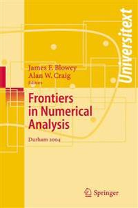 Frontiers of Numerical Analysis