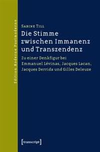 Die Stimme zwischen Immanenz und Transzendenz