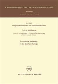 Empirische Methoden in Der Sportpsychologie