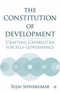 The Constitution Of Development