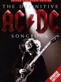 AC/DC definitive songbook updated edition