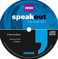 Speakout intermediate class cd (x3)