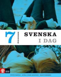 Svenska i dag Övningsbok 7