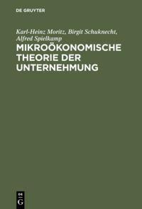 Mikrookonomische Theorie der Unternehmung