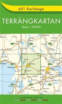 601 Karlskoga Terrängkartan : 1:50000