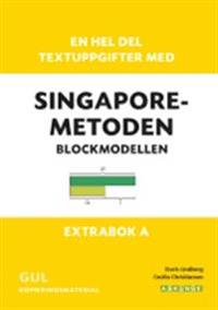 En hel del textuppgifter med Singaporemetoden   blockmodellen - extrabok A. Gul kopieringsmaterial - Doris Lindberg  Cecilia Christiansen - böcker (9789177670469)     Bokhandel