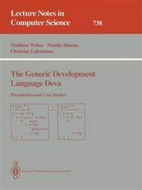 The Generic Development Language Deva