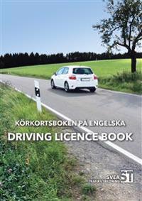 Körkortsboken på engelska : driving license book