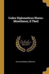 Codex Diplomaticus Rheno-Mosellanus, II Theil