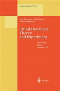 Chiral Dynamics: Theory and Experiment