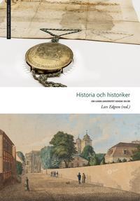 Historia och historiker - Lars Edgren m.fl. pdf epub