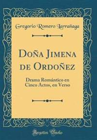 Doña Jimena de Ordoñez