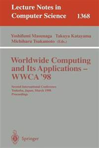 Worldwide Computing and Its Applications - WWCA'98
