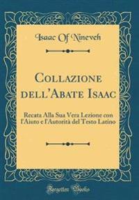 Collazione dell'Abate Isaac