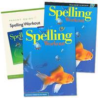 Spelling Workout Homeschool Bundle Level B Copyright 2002 [With Parent Guide and Teacher's Guide]