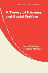 A Theory of Fairness and Social Welfare