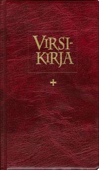 Virsikirja (kirkkovirsikirja KV961S, 12x20 cm, nuotillinen, soinnutettu, taipuisat muovikannet)