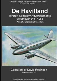 de Havilland Aircraft Company Advertisements. Volume 2
