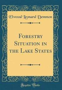 Forestry Situation in the Lake States (Classic Reprint)