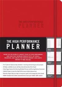 The High Performance Planner - Brendon Burchard - böcker (9781401957322)     Bokhandel