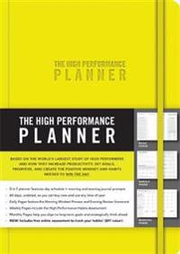 The High Performance Planner - Brendon Burchard - böcker (9781401957339)     Bokhandel