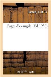 Pages d'Évangile