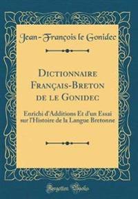 Dictionnaire Français-Breton de le Gonidec