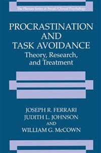 Procrastination and Task Avoidance