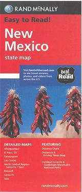 Rand McNally New Mexico State Map