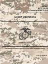 Desert Operations - FM 90-3; McTp 12-10d (Formerly McWp 3-35.6)