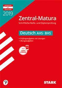 Zentral-Matura 2019 - Deutsch (Österreich) - AHS/BHS