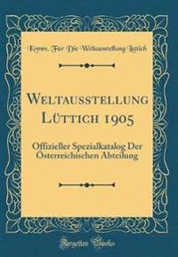 Weltausstellung Lüttich 1905