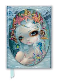 Jasmine Becket-Griffith  Seashell Princess (Foiled Journal) - Flame Tree Studio - böcker (9781787555495)     Bokhandel