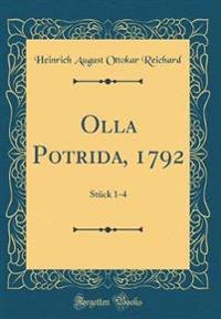 Olla Potrida, 1792
