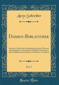 Damen-Bibliothek, Vol. 7