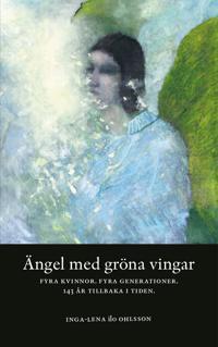 Ängel med gröna vingar
